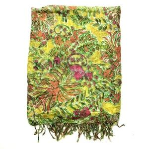 Lilly Pulitzer for Target Happy Place fringe scarf